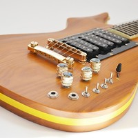 PHRED instruments DeadBolt Honey Brown - (Inspired by Jerry Garcia Guitar, Cripe Guitar)