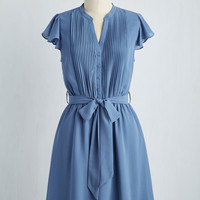 Thesis, That, and the Other Thing Dress in Blue | Mod Retro Vintage Dresses | ModCloth.com
