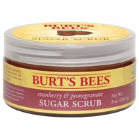 Burt's Bees Sugar Scrub, Cranberry & Pomegranate