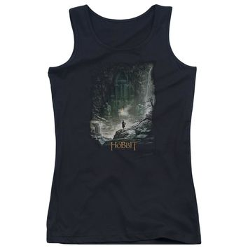 Hobbit - At Smaug's Door Juniors Tank Top Officially Licensed Apparel