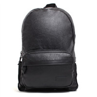 Waxed Vermont Canvas Backpack Black