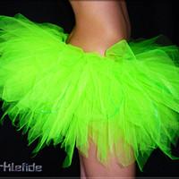 Neon Green Tutu by SparkleFide on Etsy