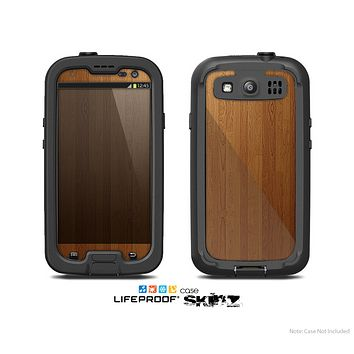 The Straight WoodGrain Skin For The Samsung Galaxy S3 LifeProof Case