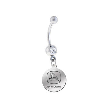 John Deere Silver Sexy Belly Navel Ring