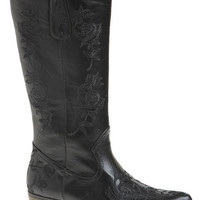 Black Beauty Cowgirl Boots - Black