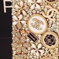 Handmade Crystal Bling iphone 4 case iphone 4s case iphone 5 5s 5c case samsung galaxy s3 case galaxy s4 case note 2 case