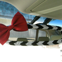 The Original Custom Rear View Mirror Cover with Matching Bow
