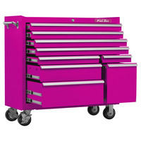 41-Inch 9-Drawer Rolling Cabinet
