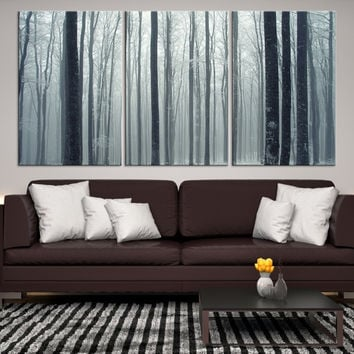 85510 - Forest Wall Art- Autumn Canvas Print- Forest Canvas- Forest Canvas Art- National Art Print- Canvas Print- Large Wall Art-