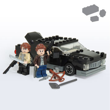 Custom LEGO Supernatural Impala Hunters Pack - Parts and Instructions