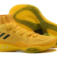 Adidas Performance Men's Crazy Explosive 2017 Primeknit Basketball-Shoes - Yellow