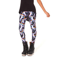 Pantalones Mujer Women Fashion 3D Rainbow Unicorn Animal Leggings Printing Milk Vintage Plus Size Leggings Leggins