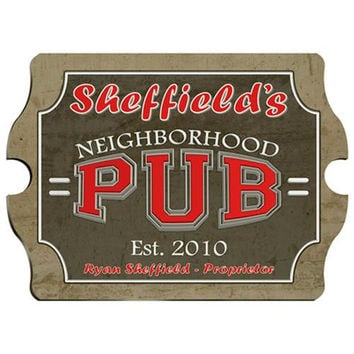 Vintage Series Personalized Signs  - NEIGHBOR