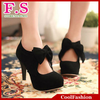 big size EUR32 EUR43 vintage style woman small bowtie platform pumps,ladys sexy high heeled shoes,Wedding Shoes for women DHH270-in Pumps from Shoes on Aliexpress.com | Alibaba Group