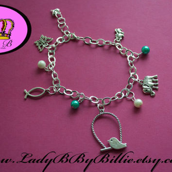 Animal Lady B By Billie Charm Bracelet