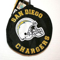 San Diego Chargers NFL Football Team Folding Backsack Mini Backpack Bag New Tag