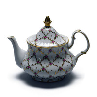 Victorian Tea Pot Desert Rose