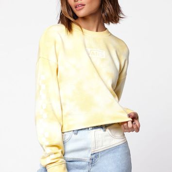Vans Cropped Pullover Crew Neck Sweatshirt at PacSun.com