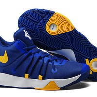 Nike  Zoom Kevin Durant   Trey6  Men's Po Blue /Yellow  Basketball Shoes