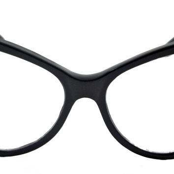 Women Cat Eye Nikita Clear Lens Glasses Retro Classic Style Vintage Frame