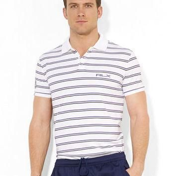 Polo Ralph Lauren Wimbledon RLX Multi-Striped Piqu¨¦ Polo Shirt