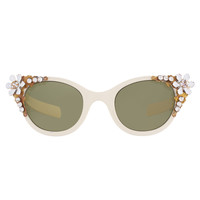 ASOS | ASOS Premium Embellished Cat Eye Sunglasses at ASOS