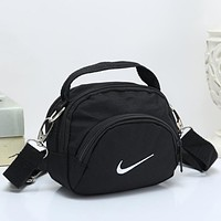 Nike Women Fashion Leather Satchel Shoulder Bag Handbag Crossbody
