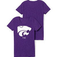 PINK College Apparel - Kansas State Hoodies, Tanks & Crews