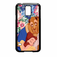 Beauty And The Beast Floral Vintage Samsung Galaxy S5 Case
