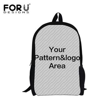 Boys bookbag trendy FORUDESIGNS Kawaii 3D Sleep Cat Children School Bags Students Kids Boys Girls Book Backpacks Mochilas Infantil Casual s AT_51_3