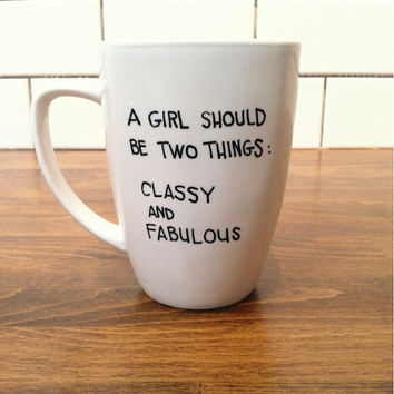 coco chanel - quote mug / coffee cup , custom and personalized mugs
