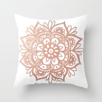 Best Rose Gold Pillow Products On Wanelo Beauteous Rose Gold Decorative Pillows