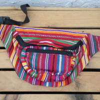 Fanny Pack--Vibrant Stripes