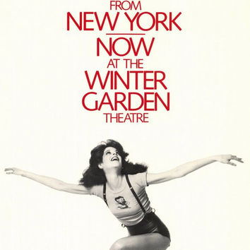 Gilda Radner Live From New York 11x17 Broadway Show Poster (1979)