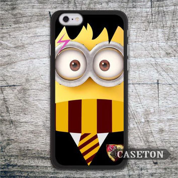 Minion Harry Potter Funny Case For iPhone 7 6 6s Plus 5 5s SE 5c and For iPod 5 High Quality Lovely Ultra Phone Cover Free Ship