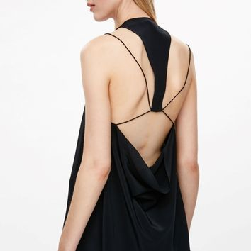 Top with string draped back