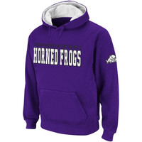 TCU Horned Frogs 2 Stack Hoodie - Purple
