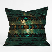 Caleb Troy Gatsby Dust Tribal Outdoor Throw Pillow