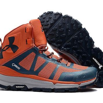 Under Armour UA Verge Michelin Mid - Orange Men Hiking Shoes US8-11