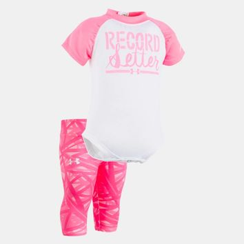 Girls' Newborn UA Record Setter Capri Set | Under Armour US