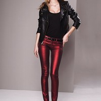 VS Siren Legging Jean in Metallic - Victoria's Secret
