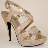 Sling back Prom Sandals Your Party Shoes Natalie 306
