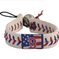 MLB Baseball GameWear Bracelet - Boston Red Sox STARS & STRIPES