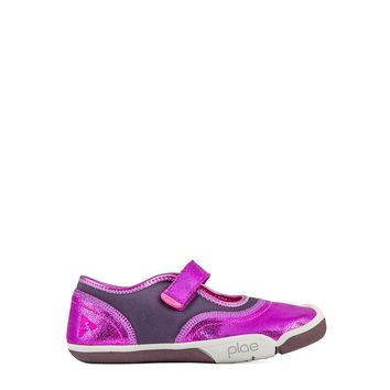 Plae Emme Girls' Sneaker in Viola