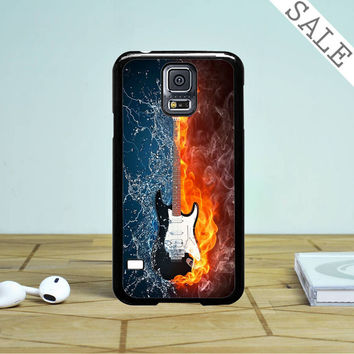 Water And Fire Guitar- Samsung Galaxy S5 Case