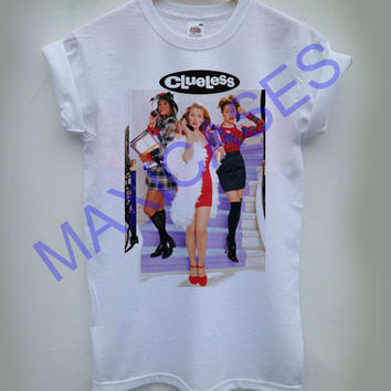 Ladies Clueless T-shirt Men Women and Youth