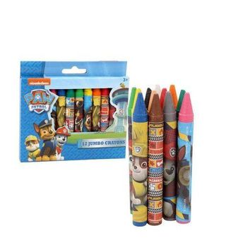 Nickelodeon Paw Patrol 12pc Jumbo Crayons Set