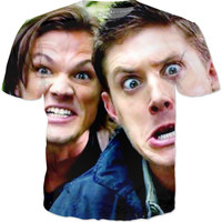 Supernatural Dean And Sam T-Shirt