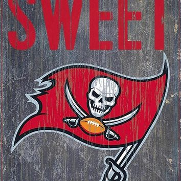 Tampa Bay Buccaneers Home Sweet Home Premium Wood Sign
