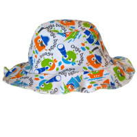 Baby Boys' Pirate Ooga Booga Sun Hat